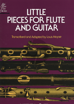 Little Pieces for Flute and Guitar (Louis Moyse)