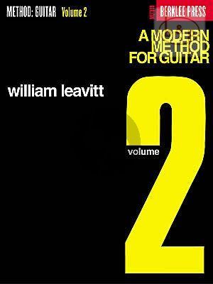 A Modern Method for Guitar Vol.2
