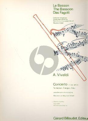 Concerto F-major RV 488 Basson-Piano