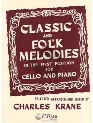 Classic And Folkmelodies Cello-piano