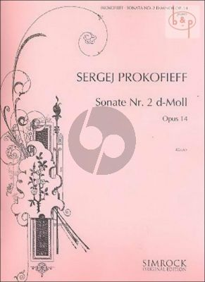 Sonata No.2 Op.14 d-minor piano solo