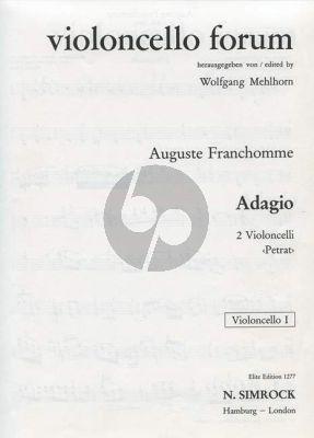 Adagio G-dur 2 Violoncellos