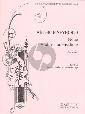 Seybold Neue Violin-Etuden Op.182 Vol.2 (1st.pos.)