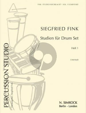 Fink Studies for Drum Set Vol. 1 (elementary grade)