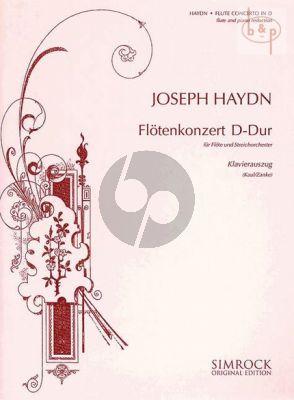 Concerto D major Hob.VII:D1 (Flute-Orch.)