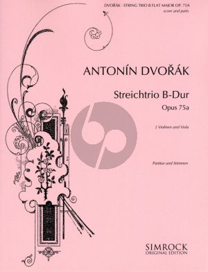Dvorak Trio B-flat major Op.75A 2 Violins-Viola (Parts)
