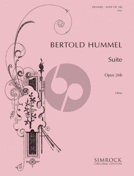 Hummel Suite Opus 26b Oboe solo