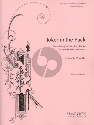 Verrall Joker in the Pack for Bassoon and Piano