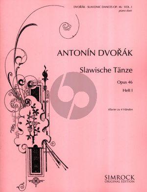 Dvorak Slavonic Dances Op.46 Vol.1 Piano 4 hands