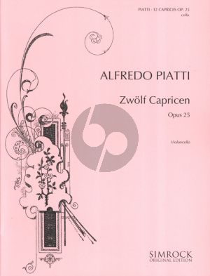 12 Caprices Op. 25 Cello