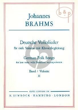 Deutsche Volkslieder vol.2