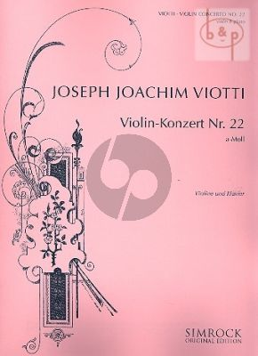Concerto No.22 a-minor (Violin-Orch.)