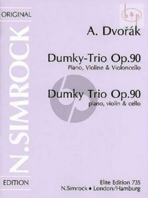 Dumky-Trio Op.90 Violin, Cello and Piano