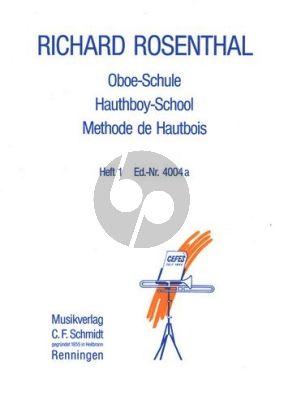 Rosenthal Oboeschule Vol.1