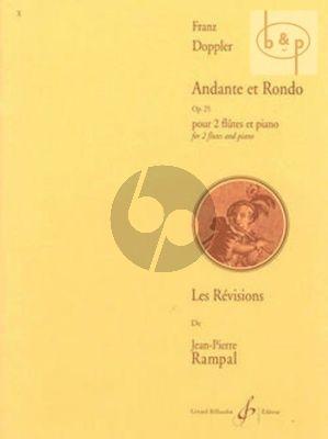 Andante & Rondo Op.25 2 Flutes-Piano