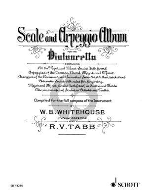 Whitehouse Scale and Arpeggio Album for the Violoncello
