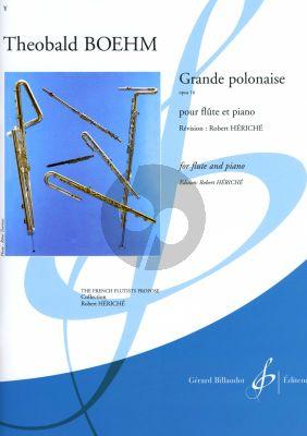 Boehm Grande Polonaise D-majeur Op.16 flute-piano (ed. Robert Hériché)