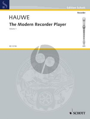 The Modern Recorder Player Vol.1 Treble Recorder
