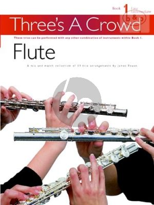 Power Three's a Crowd Vol. 1 3 Flutes