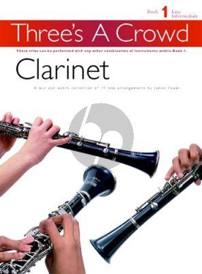 Power Three's a Crowd Vol.1 3 Clarinets