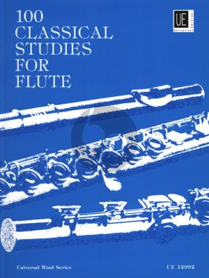 Vester 100 Classical Studies for Flute (edited by Frans Vester)
