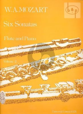 Mozart 6 Sonatas Vol.2 Flute-Piano (edited by Frans Vester)