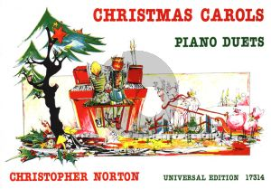 Norton Christmas Carols Piano 4 hds (14 Piano Duets) (grade 1)
