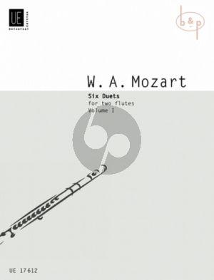 6 Duets Vol.1 2 Flutes