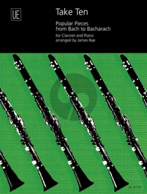 Rae Take Ten (10 popular pieces from Bach to Bacharach) Clarinet-Piano
