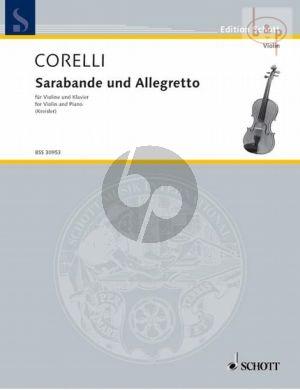 Sarabande and Allegretto
