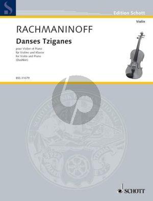 Rachmaninoff Danses Tziganes Violine-Klavier (Samuel Dushkin)