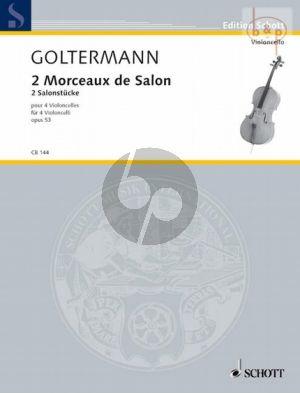 2 Morceaux de Salon Op.53 (4 Vc.)