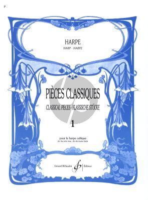 Pieces Classiques vol.1 Harpe (Le Dentu) (Debut.1)