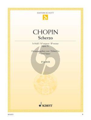 Chopin Scherzo b-moll Op.31 Klavier (Emil Sauer)