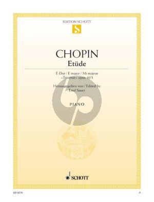 Etude Op.10 No.3 Klavier