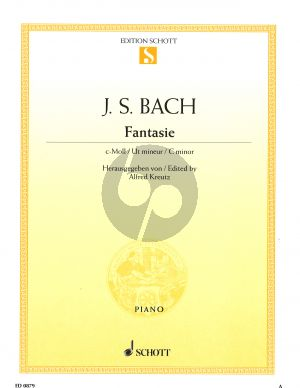 Bach Fantasie c-moll BWV 906 Klavier (Alfred Kreutz)