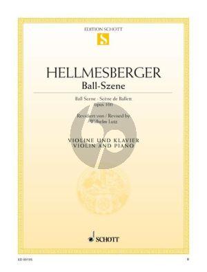 Ball-Szene Op.100 Violin-Piano