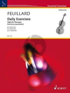 Feuillard Tagliche Ubungen Violoncello