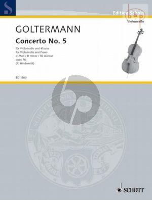 Goltermann Concerto No.5 d-minor Opus 76 Violoncello-Piano (Rudolf Hindemith)