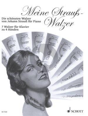 Strauss Meine Strauss Walzer Klavier zu 4 Handen