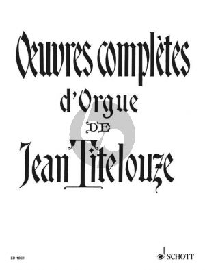 Titelouze Oeuvres Completes Orgel (Guilmant)