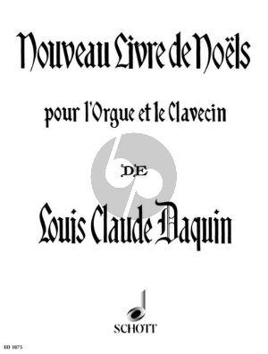 Daquin Nouveau Livre de Noels Orgel oder Cembalo (Guilmant)