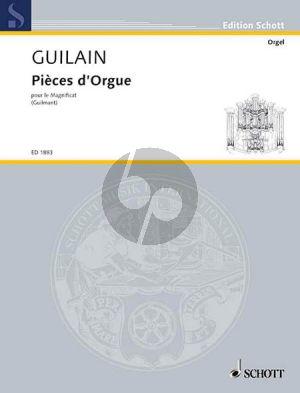 Pieces d'Orgue pour le Magnificat