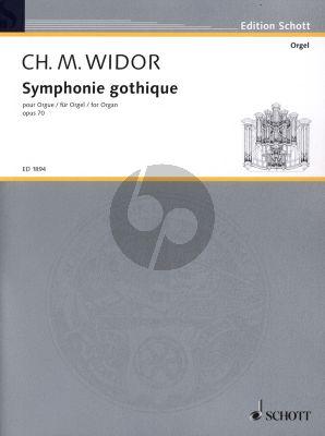 Widor Symphonie Gothigue Op.70 Orgel