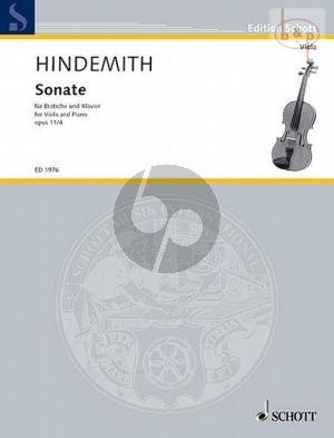Sonate Op.11 No.4 Viola und Klavier
