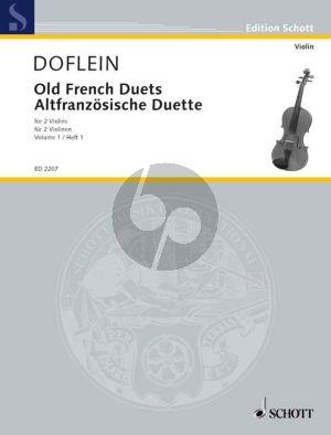 Altfranzosische Duette Vol.1 2 Violinen (Doflein) (Grade 2) (Playing Score)