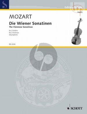 Wiener Sonatinen 2 Violins (Score)