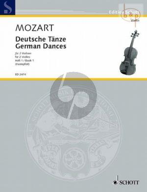 Deutsche Tanze Vol.1 2 Violinen