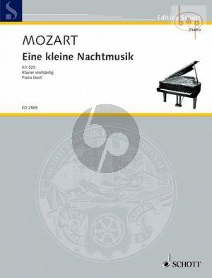 Eine Kleine Nachtmusik KV 525 Piano 4 hds