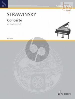 Concerto per due Pianoforte soli
